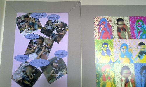حرکتی تامل برانگیز در قم-نمایش عکسهای بیحجاب دانشجویان